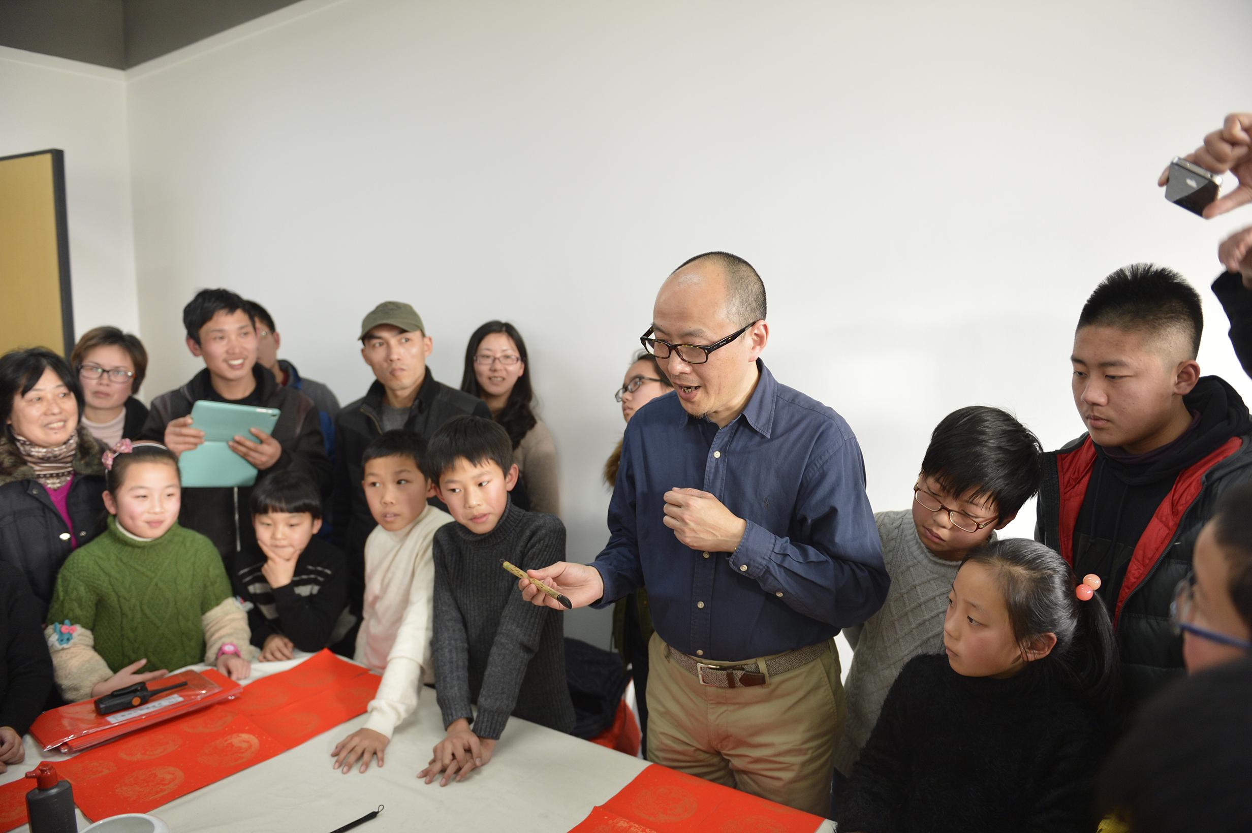晒墨宝·嘉定区中小学生书法大赛决赛获奖选手书法培训